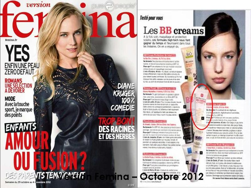 Version Femina - Octobre 2012